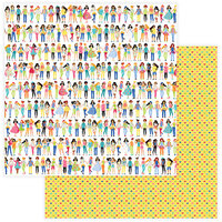 Photo Play Paper - Best Friends Collection - 12 x 12 Double Sided Paper - Girlfriends