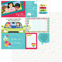 Photo Play Paper - Best Friends Collection - 12 x 12 Double Sided Paper - BFF