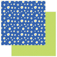 Photo Play Paper - Best Friends Collection - 12 x 12 Double Sided Paper - Daisies