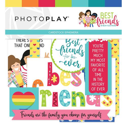 Photo Play Paper - Best Friends Collection - Ephemera