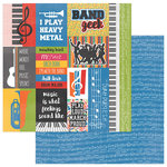 Photo Play Paper - Band Geek Collection - 12 x 12 Double Sided Paper - I'm In The Band