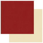 Photo Play Paper - Holiday Cheer Collection - Christmas - 12 x 12 Double Sided Paper - Dark Red