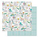 Photo Play Paper - Little Boys Have Big Adventures Collection - 12 x 12 Double Sided Paper - Make Believe
