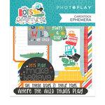 Photo Play Paper - Little Boys Have Big Adventures Collection - Ephemera
