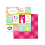 Photo Play Paper - Bloom Collection - 12 x 12 Double Sided Paper - Springtime