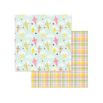 Photo Play Paper - Bloom Collection - 12 x 12 Double Sided Paper - Fly A Kite