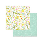 Photo Play Paper - Bloom Collection - 12 x 12 Double Sided Paper - Flower Garden