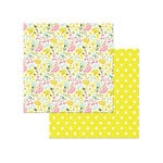 Photo Play Paper - Bloom Collection - 12 x 12 Double Sided Paper - Birds and Bees