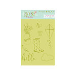 Photo Play Paper - Bloom Collection - Clear Acrylic Stamps