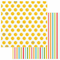 Photo Play Paper - Summer Bucket List Collection - 12 x 12 Double Sided Paper - Summer Sun