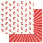 Photo Play Paper - Summer Bucket List Collection - 12 x 12 Double Sided Paper - Popcorn Popping