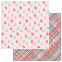 Photo Play Paper - Summer Bucket List Collection - 12 x 12 Double Sided Paper - Cotton Candy