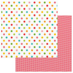 Photo Play Paper - Summer Bucket List Collection - 12 x 12 Double Sided Paper - Beach Balls