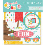 Photo Play Paper - Summer Bucket List Collection - Ephemera