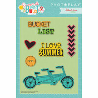 Photo Play Paper - Summer Bucket List Collection - Die Set - Icons