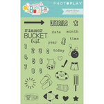 Photo Play Paper - Summer Bucket List Collection - Clear Acrylic Stamps - Planner