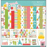 Photo Play Paper - Summer Bucket List Collection - 12 x 12 Collection Kit