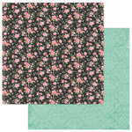 Photo Play Paper - Belle Fleur Collection - 12 x 12 Double Sided Paper - Choose Happy