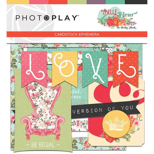 Photo Play Paper - Belle Fleur Collection - Ephemera