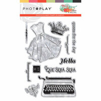Photo Play Paper - Belle Fleur Collection - Photopolymer Stamps