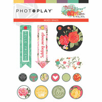 Photo Play Paper - Belle Fleur Collection - Brads