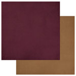 Photo Play Paper - Luke 2 Collection - Christmas - 12 x 12 Double Sided Paper - Dark Red