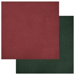 Photo Play Paper - Luke 2 Collection - Christmas - 12 x 12 Double Sided Paper - Red