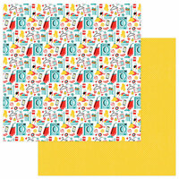 Photo Play Paper - Best Mom Ever Collection - 12 x 12 Double Sided Paper - Busy Mom