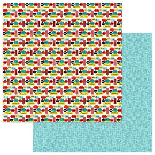 Photo Play Paper - Best Mom Ever Collection - 12 x 12 Double Sided Paper - Mom