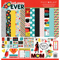 Photo Play Paper - Best Mom Ever Collection - 12 x 12 Collection Pack