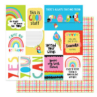 Photo Play Paper - Birds Of A Feather Collection - 12 x 12 Double Sided Paper - Good Stuff