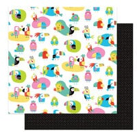 Photo Play Paper - Birds Of A Feather Collection - 12 x 12 Double Sided Paper - Flock