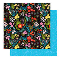 Photo Play Paper - Birds Of A Feather Collection - 12 x 12 Double Sided Paper - Flower Garden