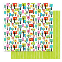 Photo Play Paper - Birds Of A Feather Collection - 12 x 12 Double Sided Paper - Nesting