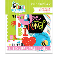 Photo Play Paper - Birds Of A Feather Collection - Ephemera