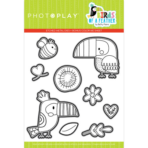 Photo Play Paper - Birds Of A Feather Collection - Dies