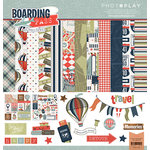 Photo Play Paper - Boarding Pass Collection - 12 x 12 Collection Pack