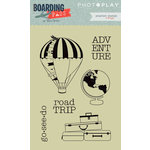 Photo Play Paper - Boarding Pass Collection - Clear Acrylic Stamps