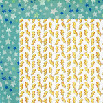 Photo Play Paper - Boys Rule Collection - 12 x 12 Double Sided Paper - Seeing Stars