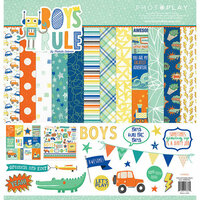Photo Play Paper - Boys Rule Collection - 12 x 12 Collection Pack