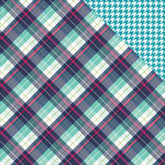 Photo Play Paper - Mad 4 Plaid Collection - Delightful - 12 x 12 Double Sided Paper - Mackenzie