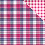 Photo Play Paper - Mad 4 Plaid Collection - Delightful - 12 x 12 Double Sided Paper - Macalister