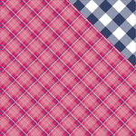 Photo Play Paper - Mad 4 Plaid Collection - Delightful - 12 x 12 Double Sided Paper - Lennox