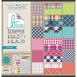 PhotoPlay Paper - Mad 4 Plaid Collection - Delightful - 12 x 12 Collection Pack