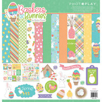 Photo Play Paper - Baskets of Bunnies Collection - 12 x 12 Collection Pack