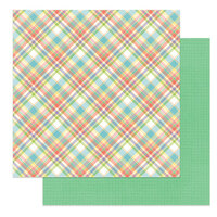 Photo Play Paper - Baskets of Bunnies Collection - 12 x 12 Double Sided Paper - Sunday Best