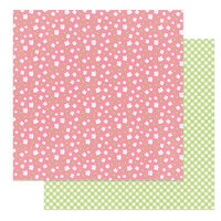 Photo Play Paper - Baskets of Bunnies Collection - 12 x 12 Double Sided Paper - Spring Buds
