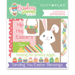 Photo Play Paper - Baskets of Bunnies Collection - Ephemera
