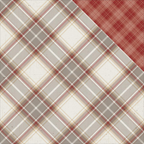Photo Play Paper - Mad 4 Plaid Collection - Tailored - 12 x 12 Double Sided Paper - Carnegie