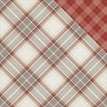 PhotoPlay Paper - Mad 4 Plaid Collection - Tailored - 12 x 12 Double Sided Paper - Carnegie